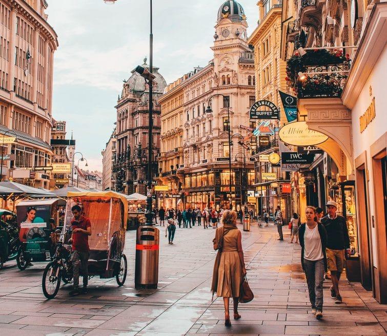 Visites guidées à Vienne à pied