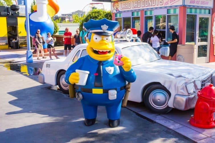 Les Simpsons, Universal Studios Orlando