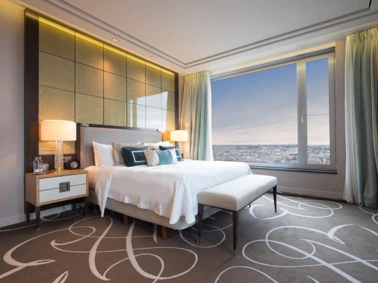 Chambre avec vue, Hôtel Waldorf Astoria Berlin