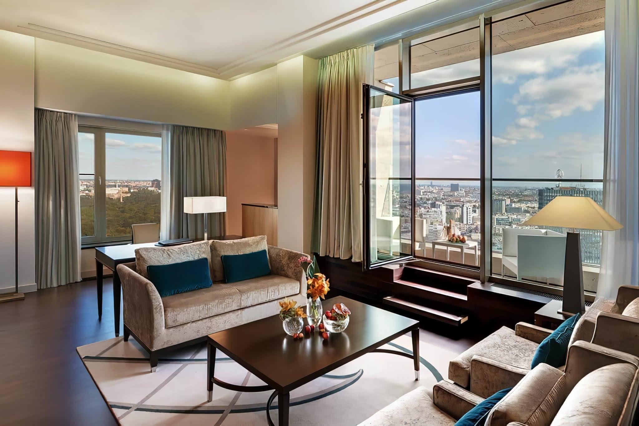 Suite avec vue au Waldorf Astoria, Berlin