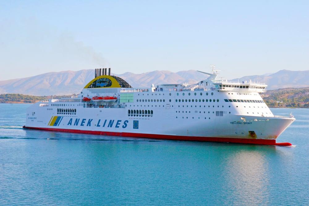 Anek Lines Corfou depuis Ancône en ferry