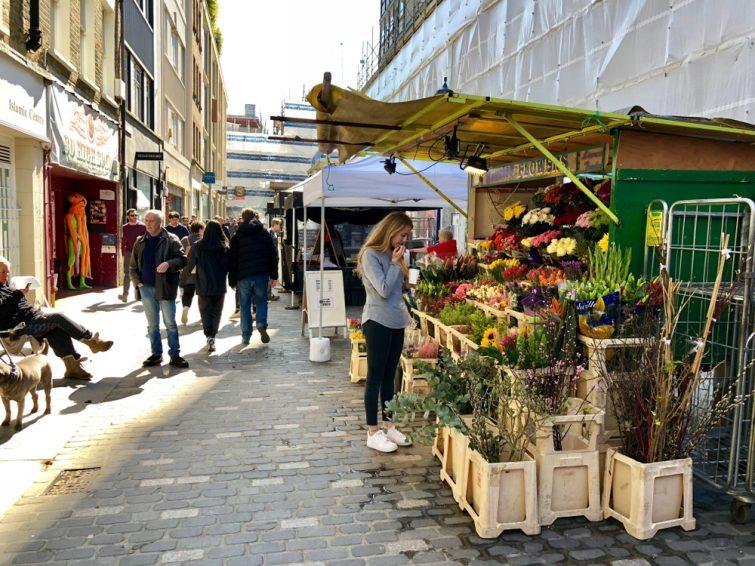 Berwick Street in Soho