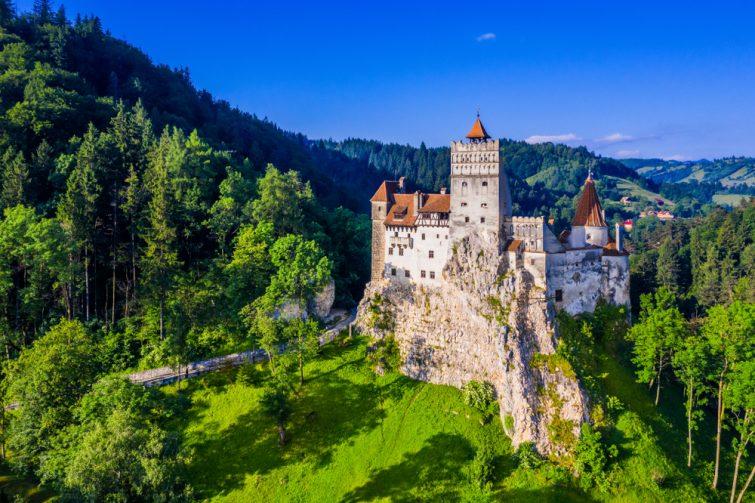 Brasov, Transylvanie. Roumanie. Le château médiéval de Bran