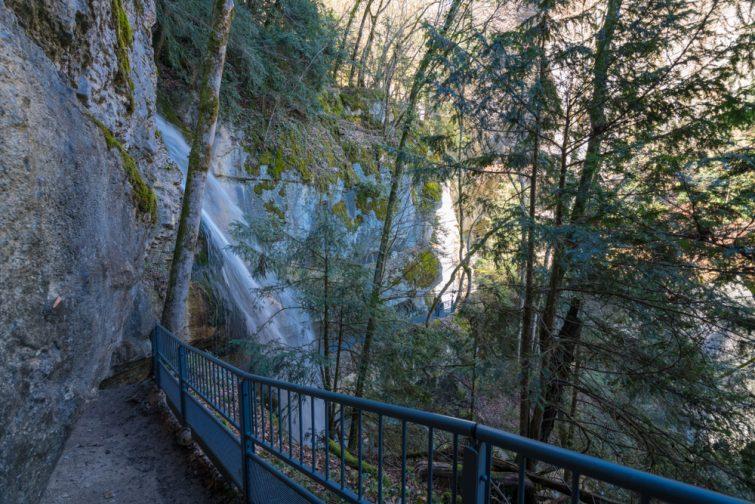 Cascade d'Angon randonnée à Annecy