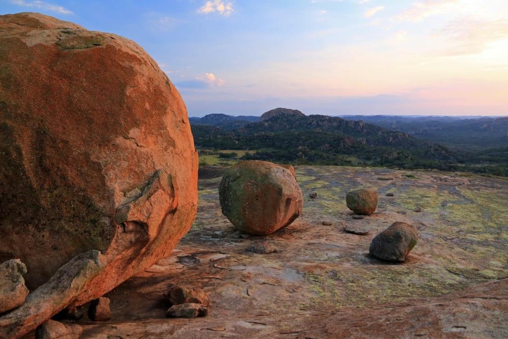Cecil Rhodes grave, Parc national de Matobo, Zimbabwe