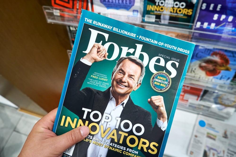 Forbes journaux britanniques et américains