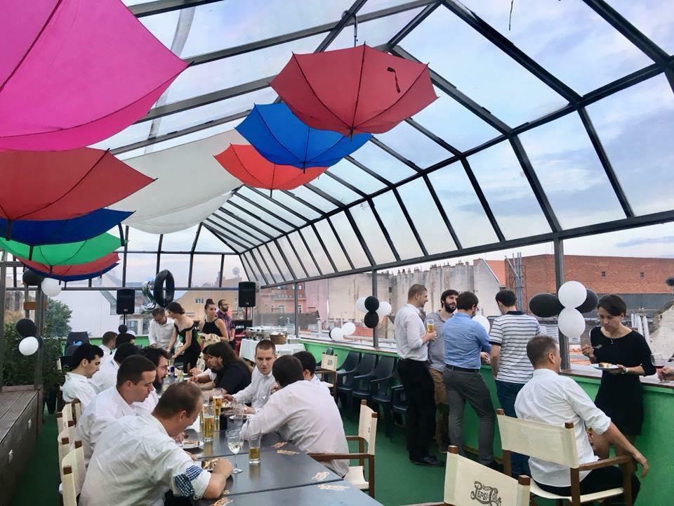 Gozsdu Sky Bar Budapest
