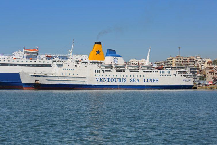 Grèce depuis l'Italie en ferry ventouris ferries