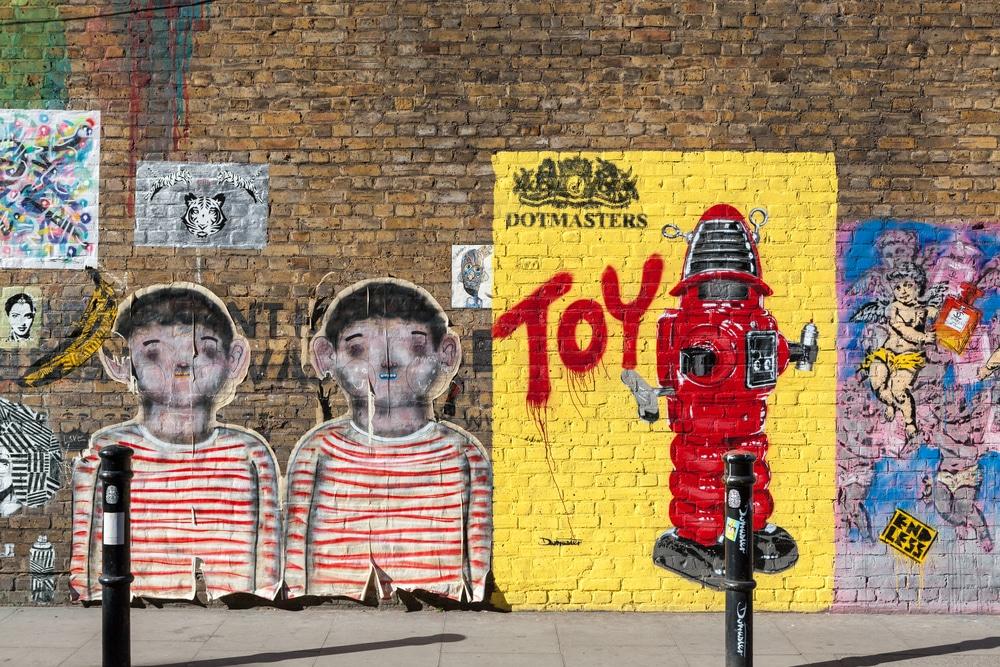 Hanbury street art