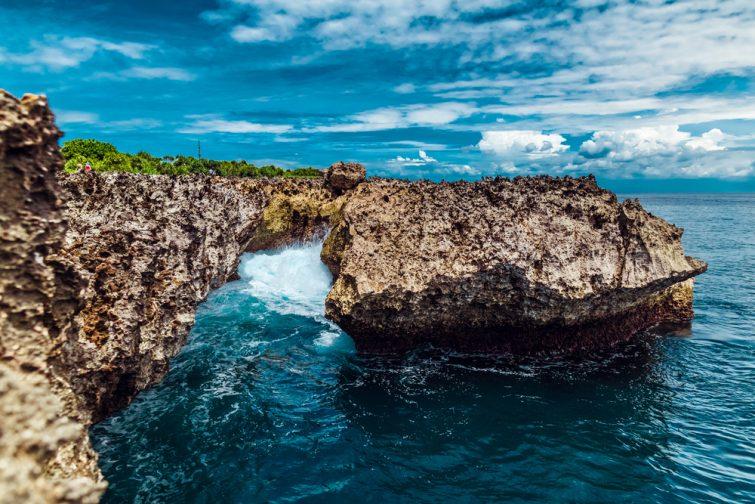 Indonésie, île de Bali  Nusa Dua, coup d'eau