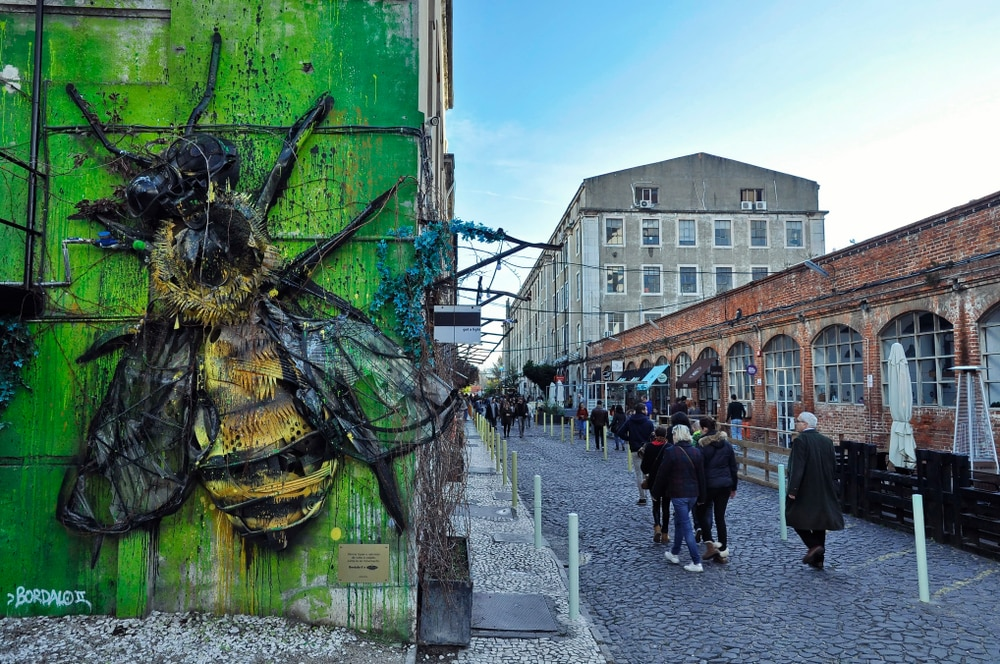 LX Factory street art lisbonne