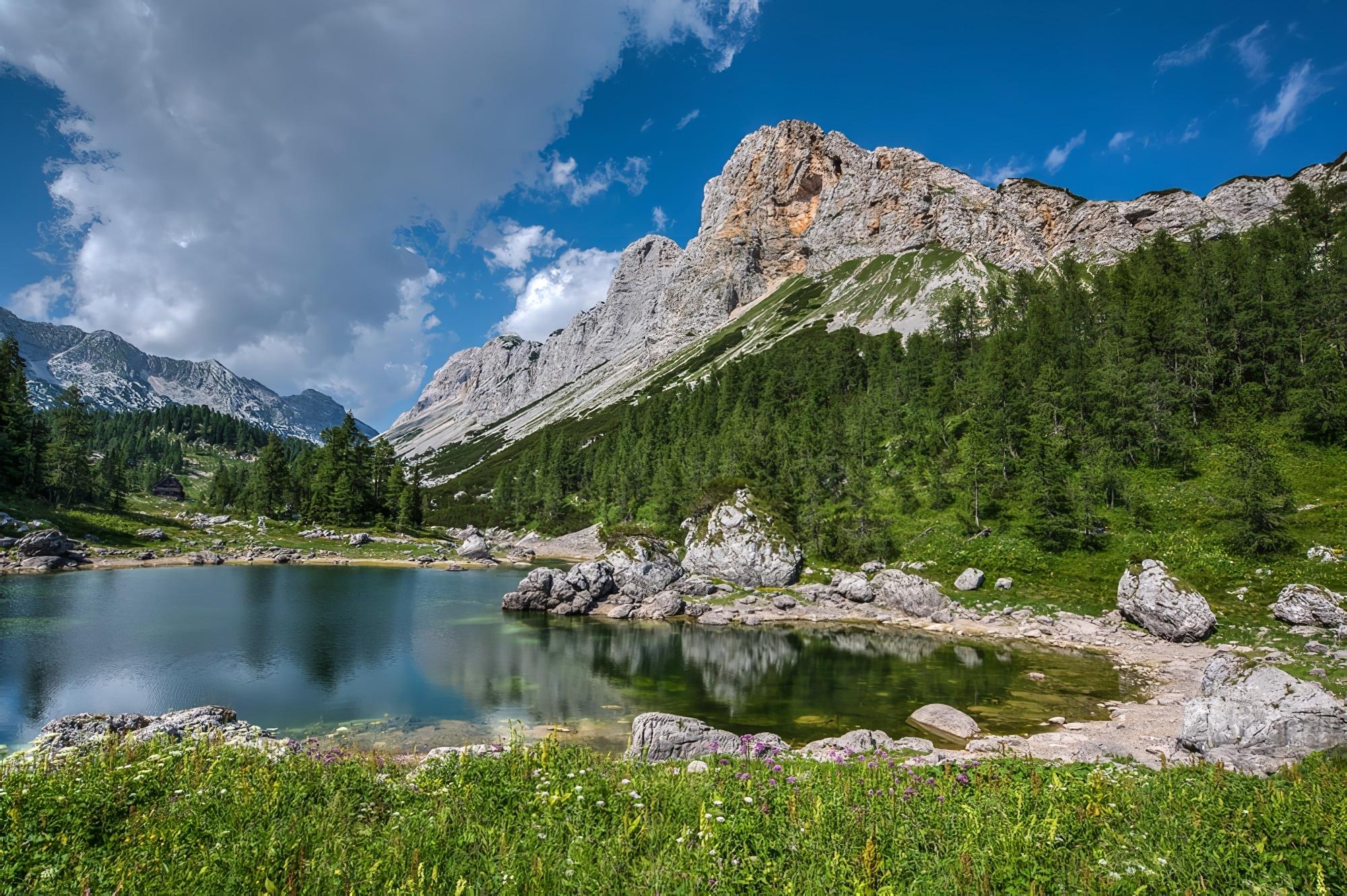 Lac de Triglavska Sedmera jezera Dans le parc national de Triglav