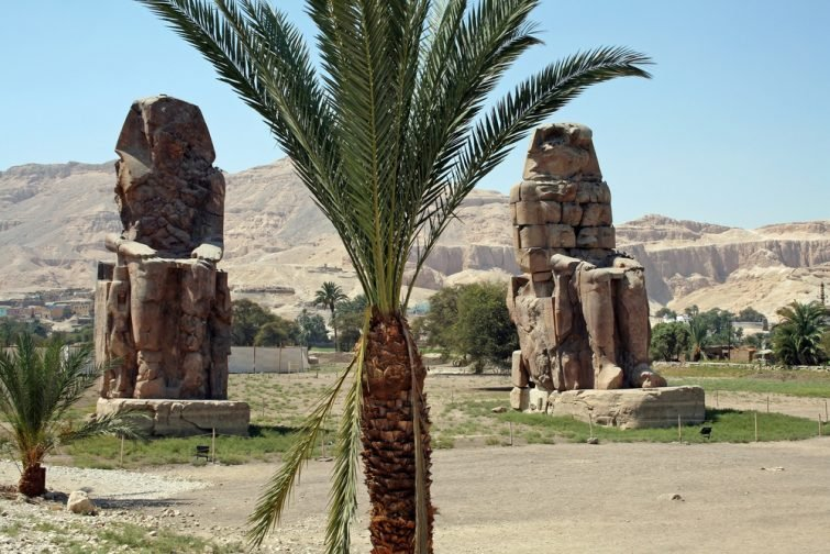Les colosses de Memmon