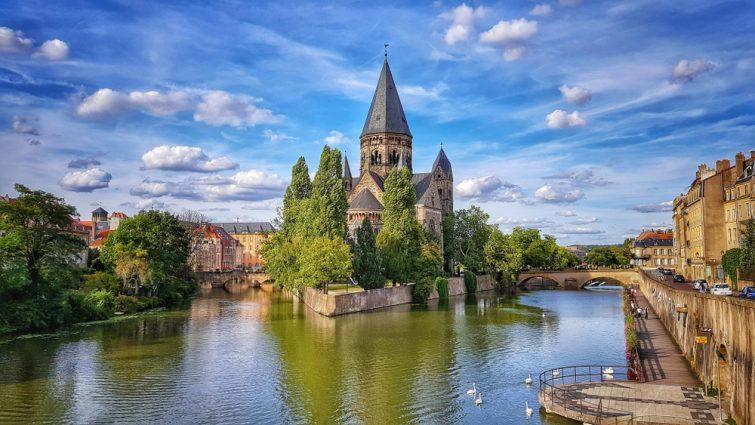 Metz sur la Moselle (Fr)