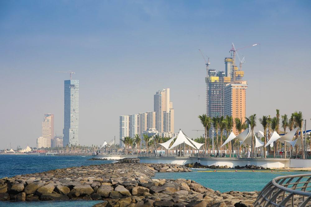 Nouvelle Corniche, Djeddah, Arabie saoudite