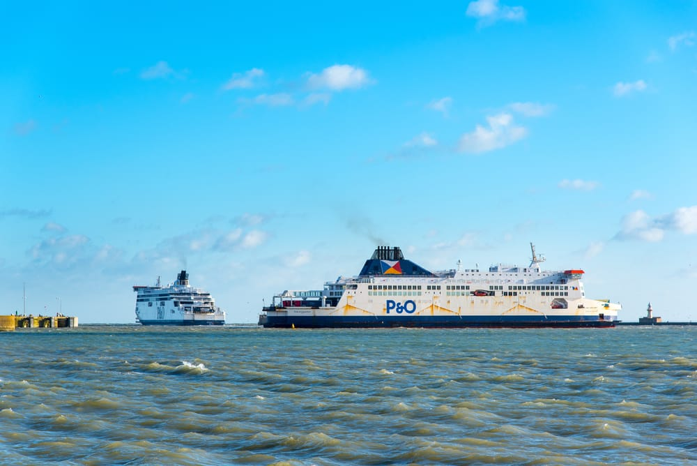 P&O ferry france angleterre