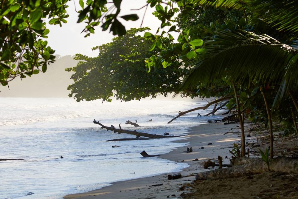 Playa Blanca, Punta Cahuita, Costa Rica, Central America