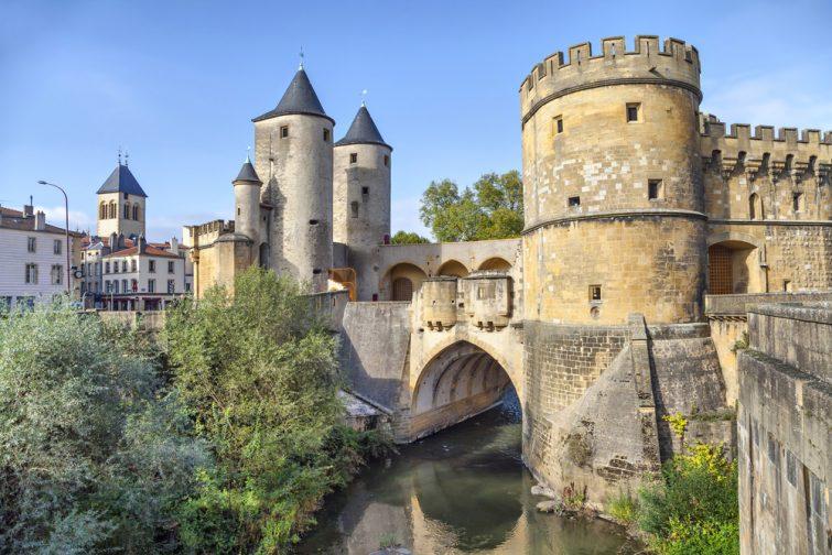 Porte des Allemands à Metz, France