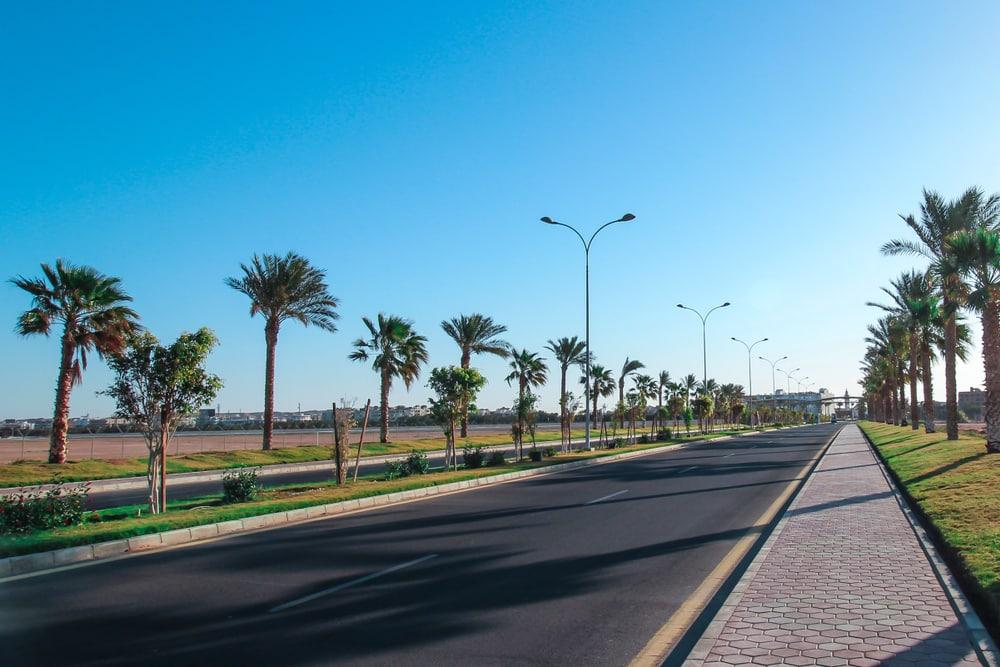 Quartier de l'aéroport hurghada