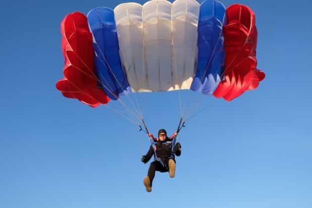 Où faire du saut en parachute autour de Paris ?
