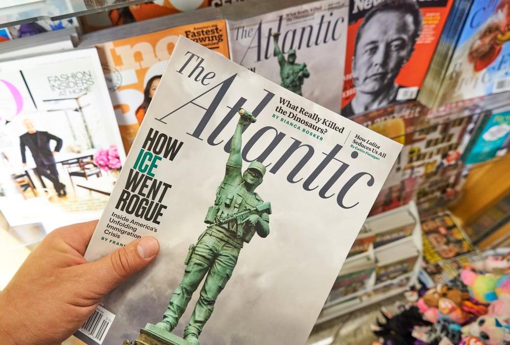 The Atlantic journaux britanniques et américains