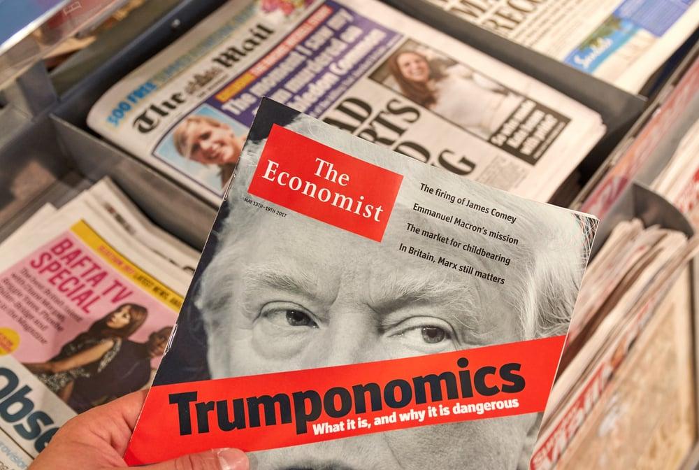 The Economist journaux britanniques et américains