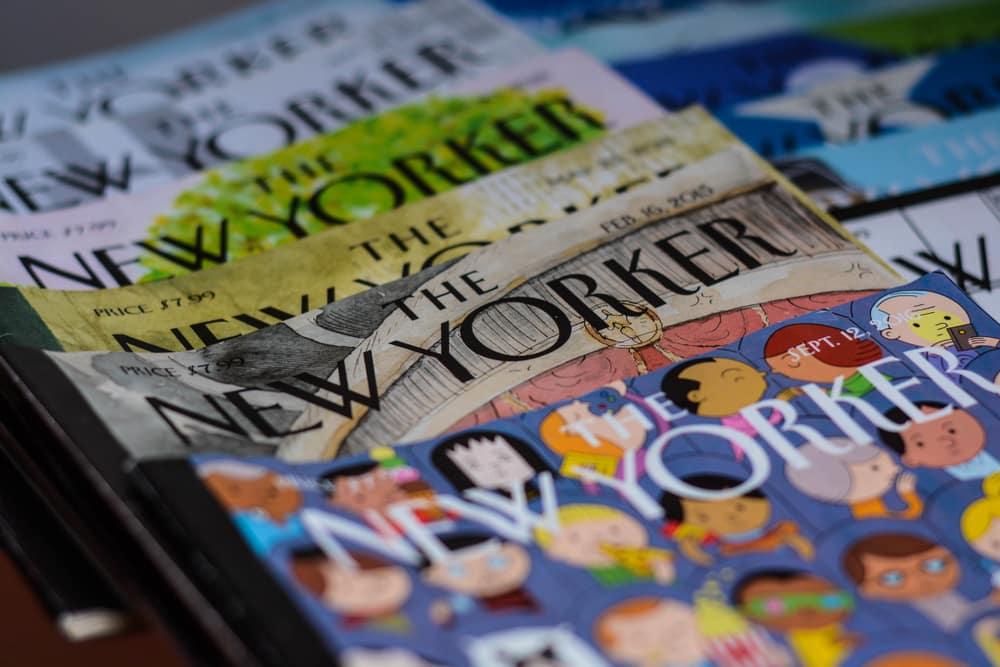 The New Yorker journaux britanniques et américains