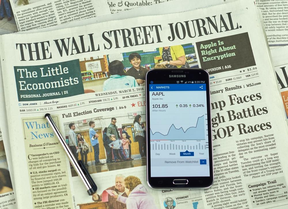 The Wall Street Journal journaux britanniques et américains