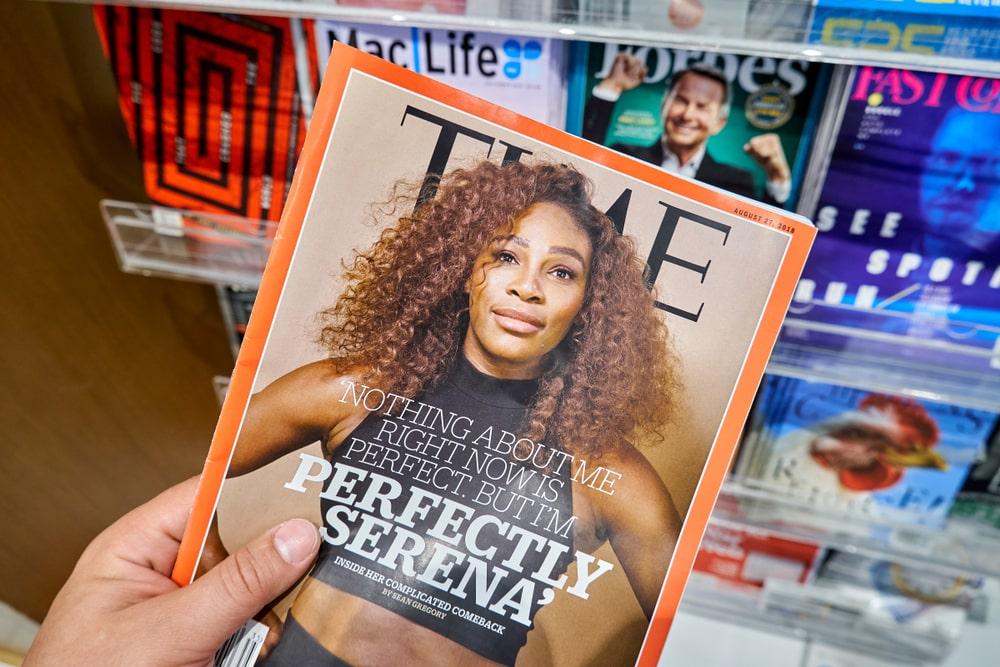 Time Magazine journaux britanniques et américains