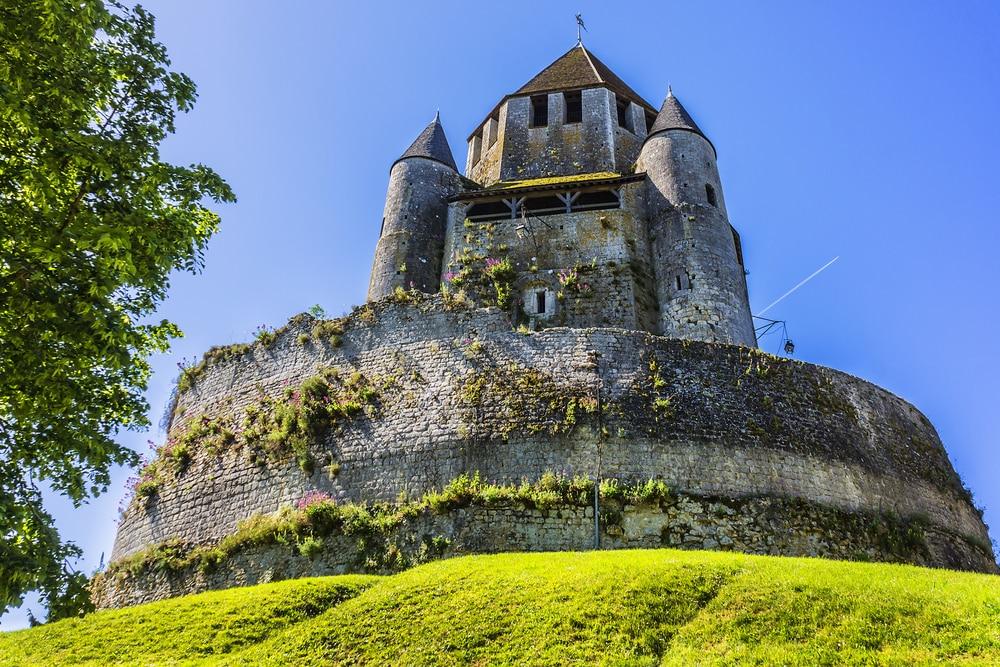 Tour César (1181) - point de repère et emblème de Provins. Provins - commune de Seine-et-Marne, région Ile-de-France, France.
