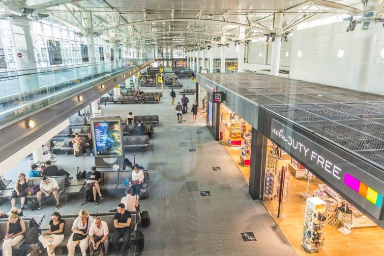 Intérieur de l'aéroport de Marseille Provence