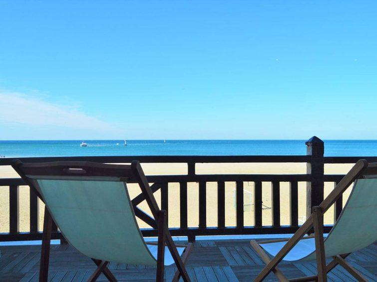 Appartement avec vue sur mer, Deauville