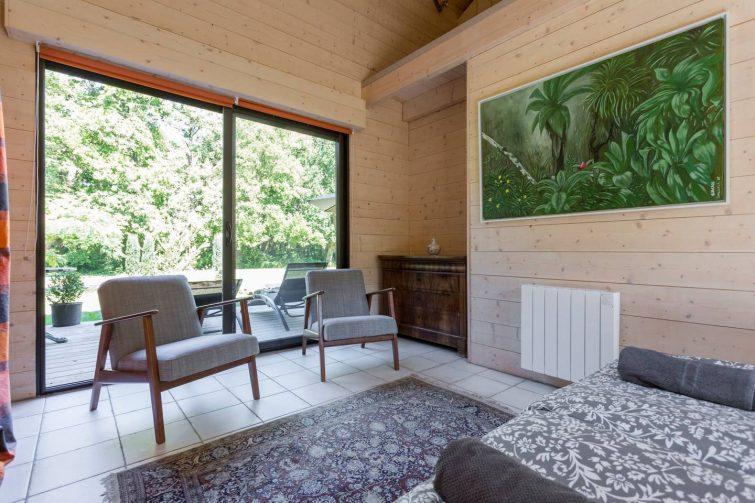 Airbnb en pleine nature à Lacanau