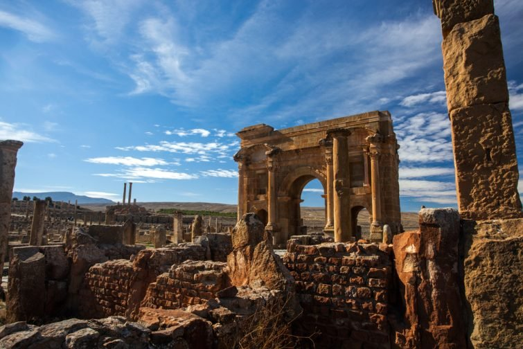 Les ruines de Timgad