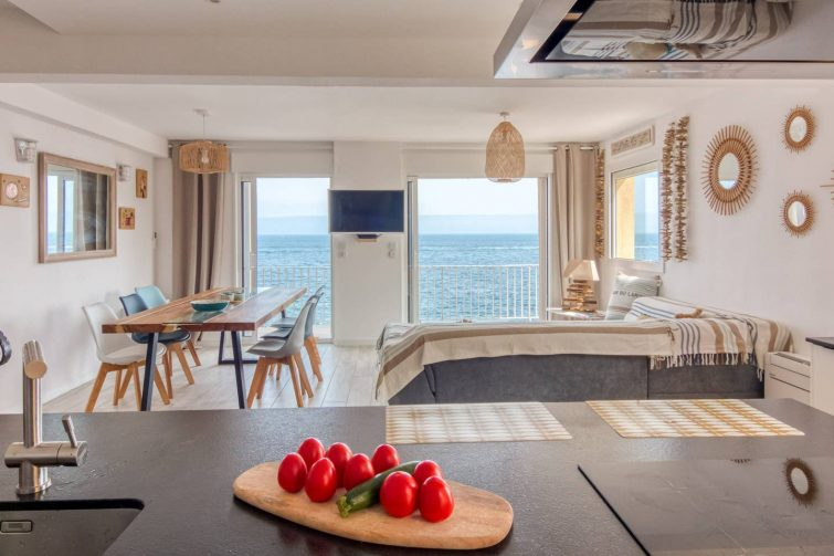Superbe appartement vue mer à Collioure