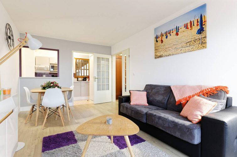 Appartement avec balcon, Deauville