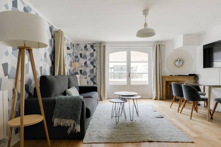Airbnb proche de la plage et de la place Morny, Deauville