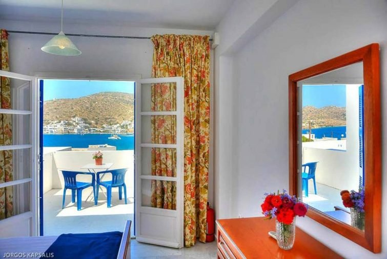 Airbnb avec terrasse, Katapola, Amorgos