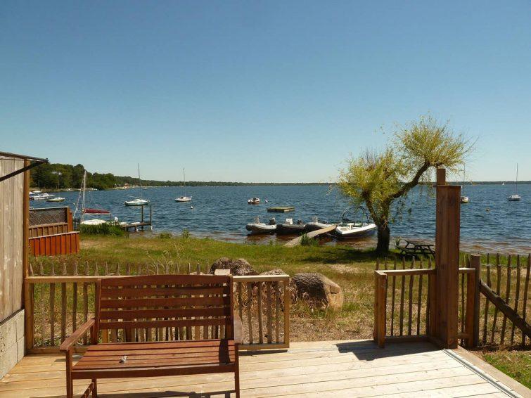 Airbnb avec accès direct au lac de Lacanau
