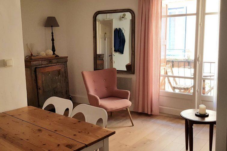 Airbnb, appartement rénové à Collioure