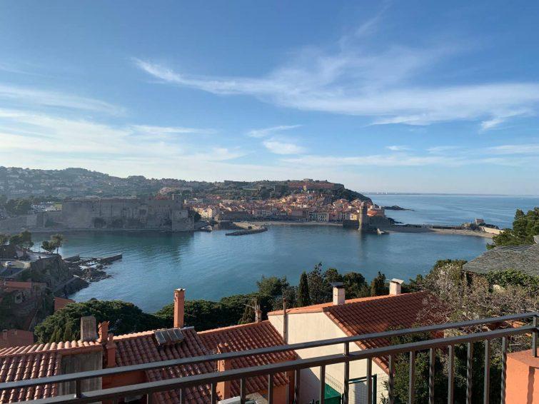 Appartement avec vue sur mer et clocher, Collioure