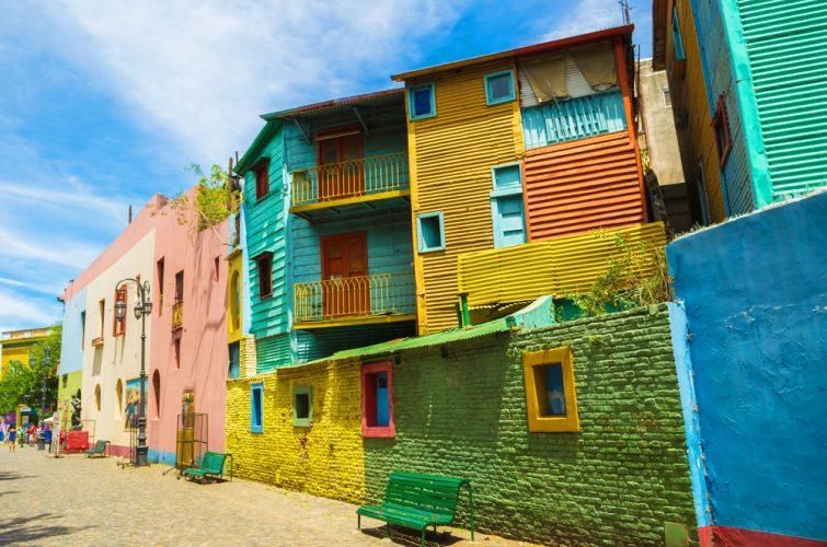 Caminito, quartier de La Boca, Buenos Aires