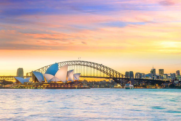 Sydney, à visiter lors d'un road-trip de l'Australie en van
