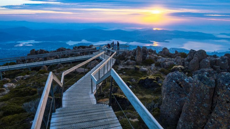 Refuge d'observation Pinnacle, Australie
