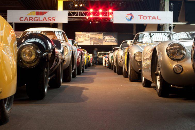 Collection de véhicules prestigieux