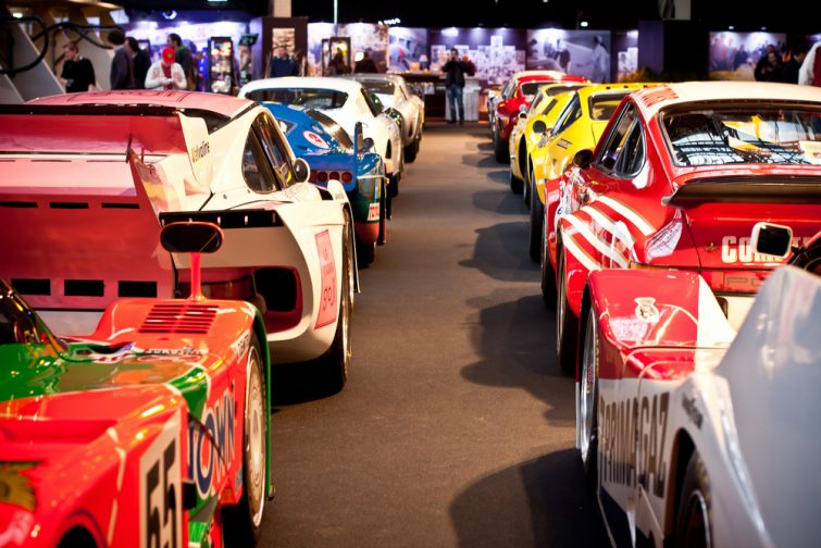La collection de voitures de course, Autoworld