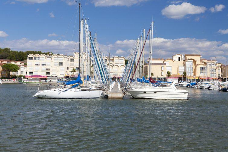 Visiter et louer un bateau à Gruissan