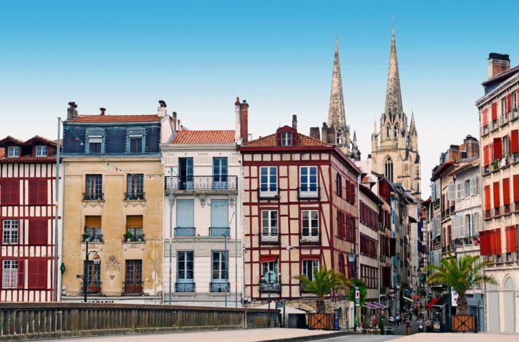 Vieilles maisons typiques, Bayonne
