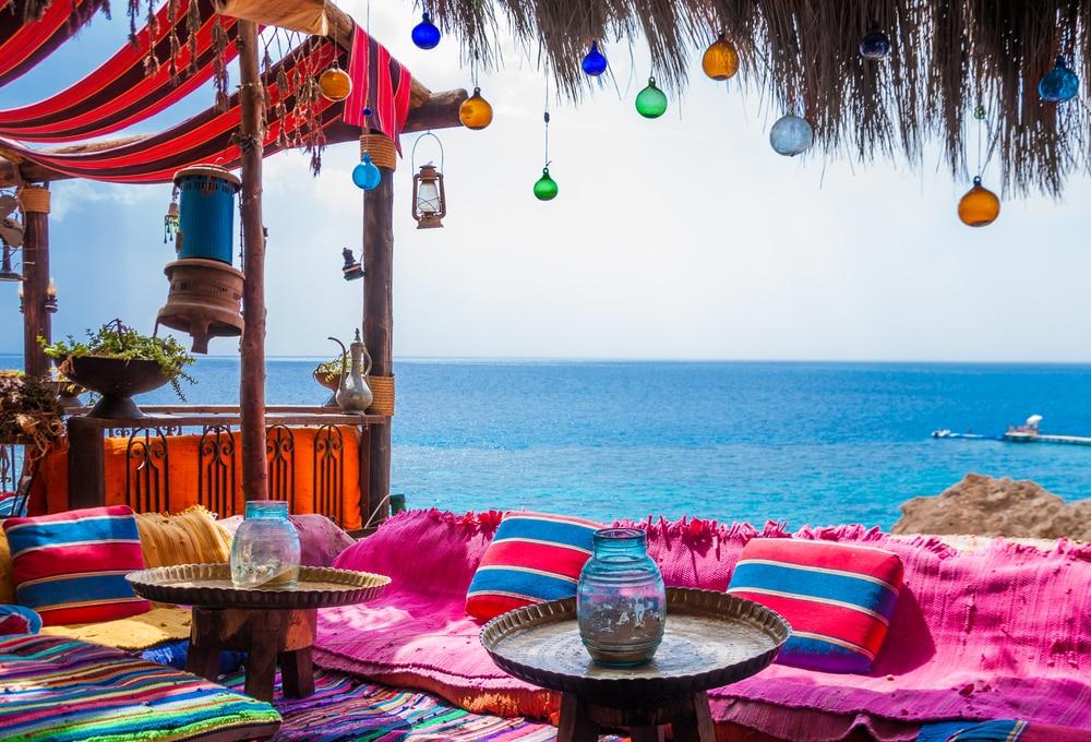 belle adresse de détente sur la plage de Hadaba, en Egypte