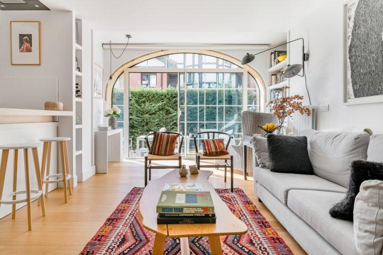 Élégant appartement avec jardin